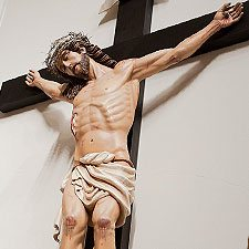 The Crucifix from Our Lady of Solitude Chapel