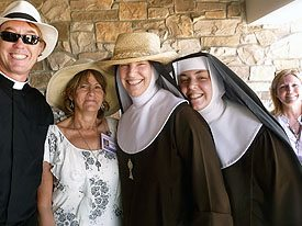 Fr. Billy and Ladies of Solitude