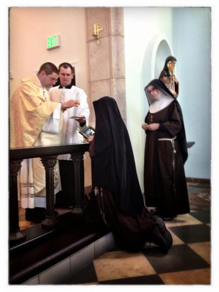 Sr. John Mark's Renewal of Vows - 12/12/12