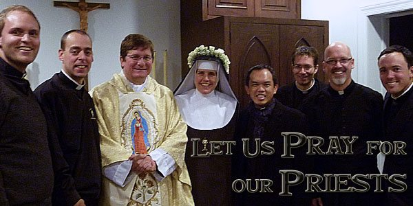 Prayers for Priests