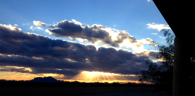 "Ya, just another day in the desert! ""Oh that you would rend the heavens and come down..."" (Is 64:1)"